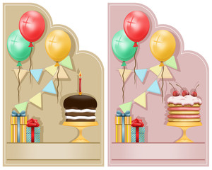 2 Birthday cards
