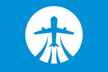 Vektör Uçak Seyahat Turizm