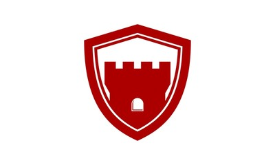 Shield Fortress Castle Logo 1