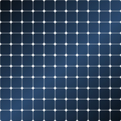 Solar panel glossy - seamless tileable