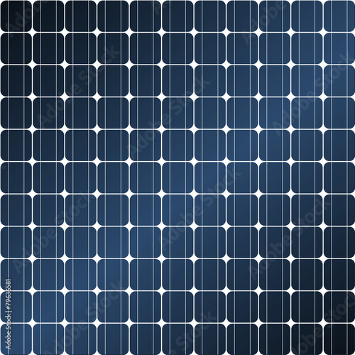 Solar panel - seamless tileable - 79636581