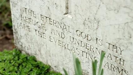 Inscription on Tombstone