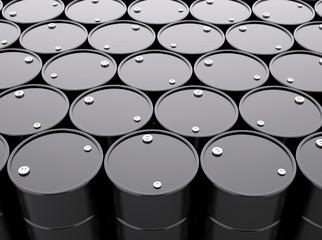Oil Barrels Background
