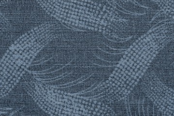 fabric of silvery color with an abstract pattern