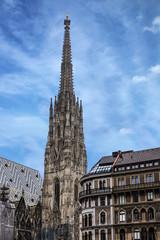 Saint Stephan cathedral church in Vienna, Austria