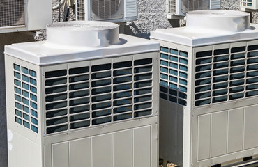 Large industrial air conditioners
