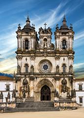 Alcobaca Medieval Roman Catholic Monastery, Portugal.