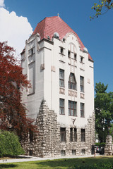 Ancient building. Pecs, Hungary