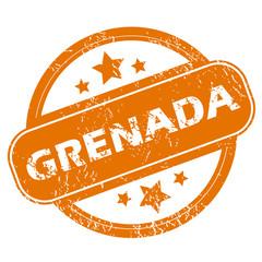 Grenada grunge icon