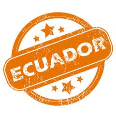 Ecuador grunge icon