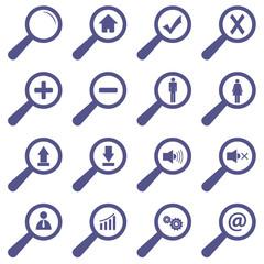 Unique icons set