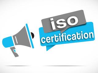 mégaphone : standard ISO