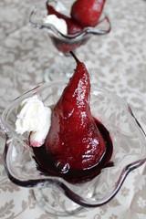 Pera al vino rosso - dessert