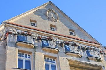 Balkons, Jugendstil,  Fürth, #0181