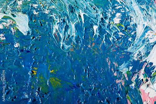 Fototapeta abstract artwork background painting