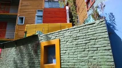 View of El Caminito in Buenos Aires, Argentina
