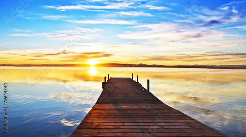 vacaciones de verano en el lago