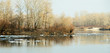 Spring landscape with the river Dnipro - 79645184