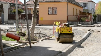 No Work on Construction Site