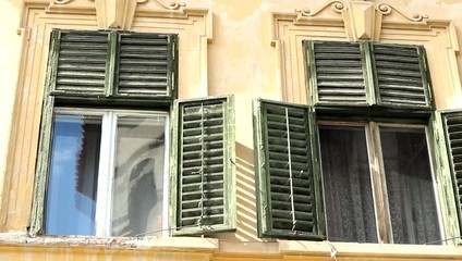 Old Damaged Windows