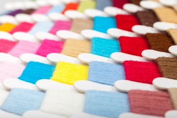 Thread color card