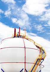Gas Propane-butane, Storage Tank
