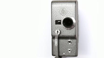 Old Hand Held Reel Film Camera_10