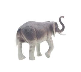 Elephant toy back.