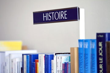 french word history at library