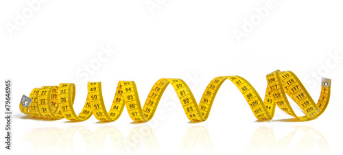 Gelbes Maßband - 79646965