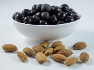 Almonds and Blueberries