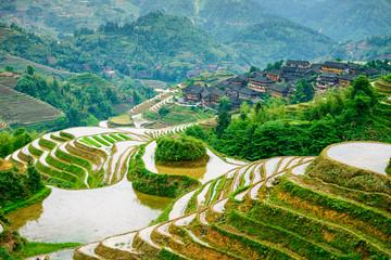 Guilin, China Rice Terraces © SeanPavonePhoto