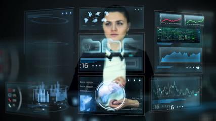 hologram screens
