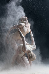dancers and flour