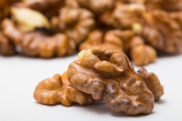 walnut background