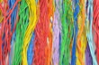 Colorful electrical cables - 79655758