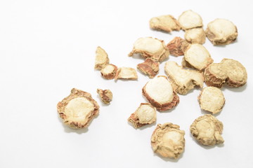 Dried ginger.