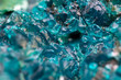 canvas print picture - Chrysocolla is a hydrated copper cyclosilicate