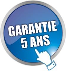 bouton garantie 5 ans