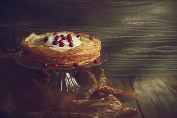 holiday pancakes