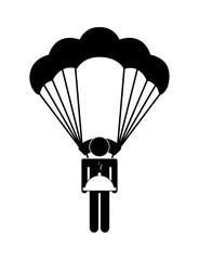 girl parachute