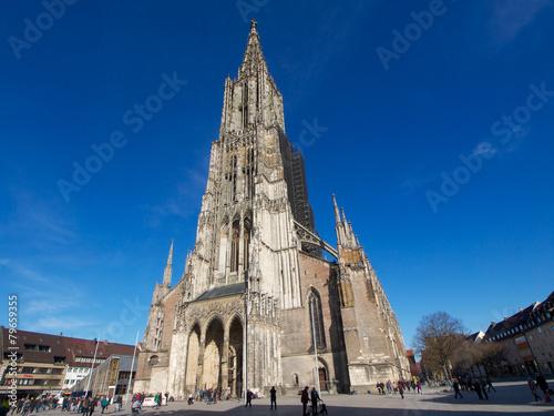 Zdjęcia na płótnie, fototapety, obrazy : Baden-Württemberg - Ulmer Münster