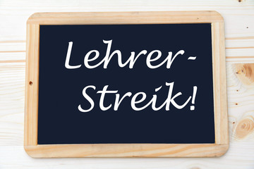 Lehrer-Streik