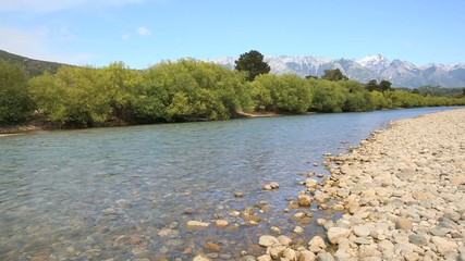 View of Rio Manso, North Patagonia