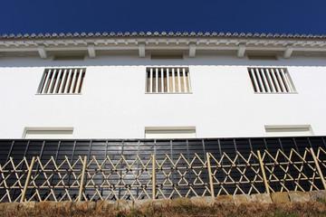 富岡城の白壁(苓北町 天草)