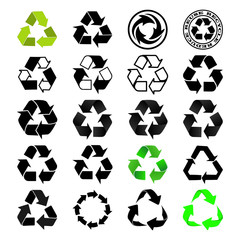 Recycle Logo Set