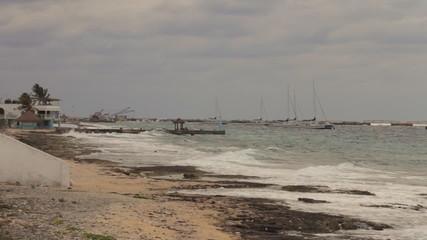 Cozumel South Island Coral Beach