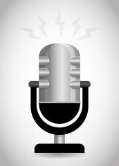 Sound design, vector illustration.