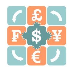 currency exchange relative image