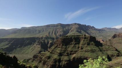 Gran Canaria, Canary Islands mountain landscape